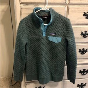 Patagonia Quilted Snap-T Pullover, S